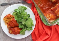 Vegan Baked Cabbage Rolls