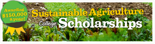 Scholarships for Sustainable Agriculture