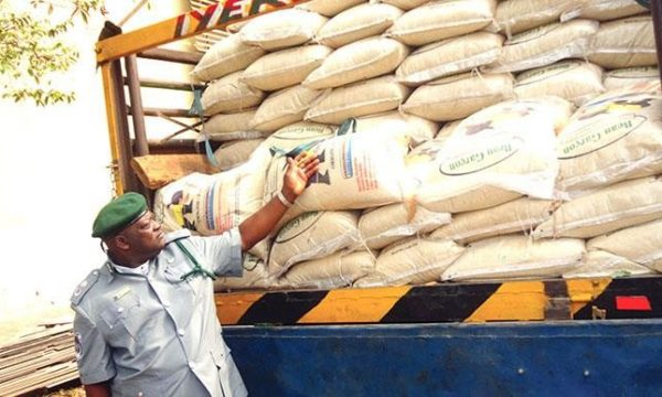 Agriculture Customs intercept 650 bags of rice, says no mercy for economic saboteurs