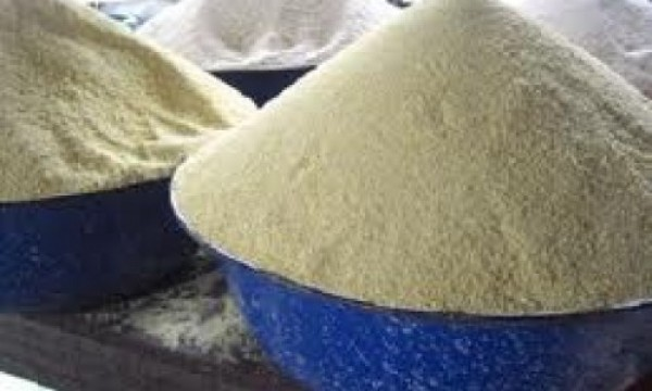 Price of Garri on the Increase in Cross River