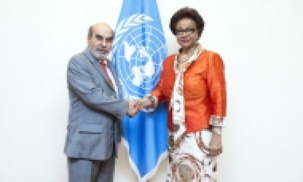 The African Union and FAO seek to boost joint efforts to end hunger in Africa