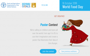 World Food Day 2018 Poster contest (Age 5-19)