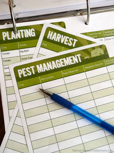 farm record keeping